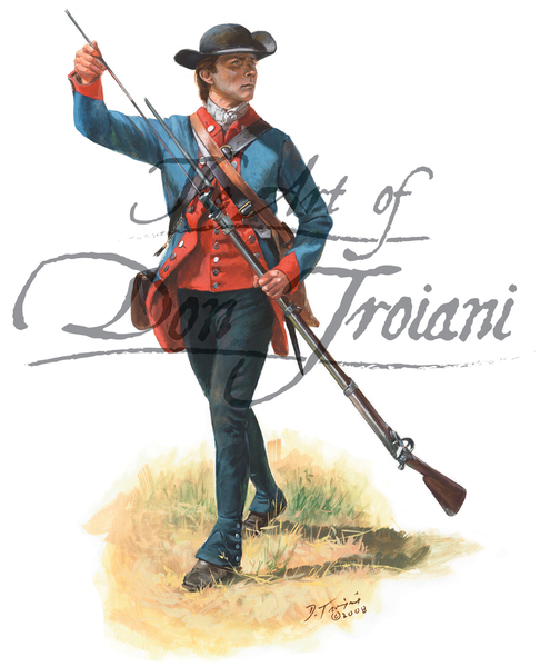 Private of the 2nd New Hampshire Regiment 1777