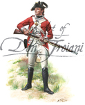 British Marine, Private, Plymouth Division - as they appeared in Boston 1775