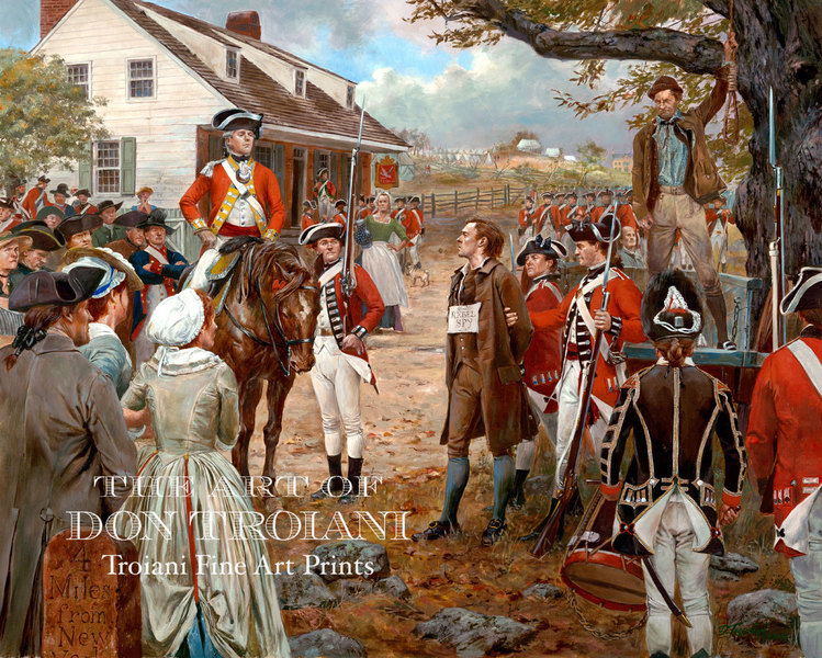 NH - Nathan Hale, September 22, 1776