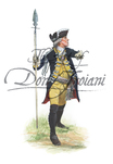 Lieb Infantry Regiment Officer, 1776