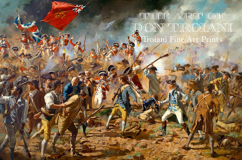 RED - The Redoubt, Battle of Bunker Hill, June 17, 1775