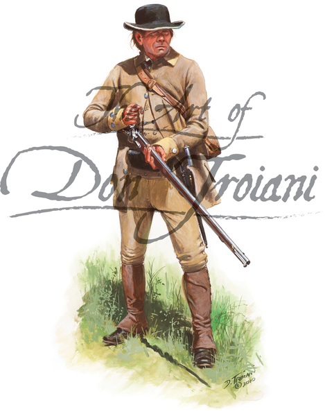 18th Continental Infantry Private, 1776
