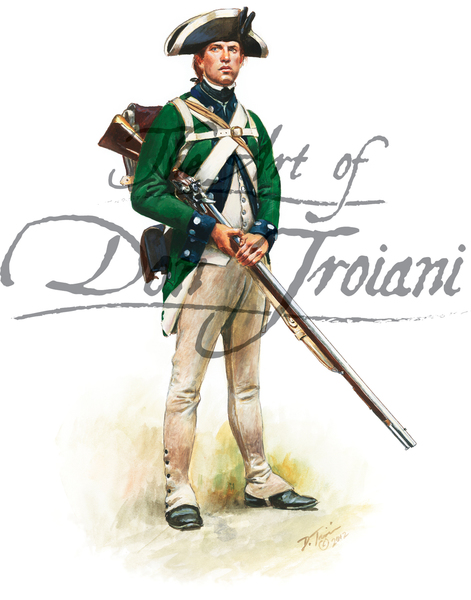 Loyalist: Prince of Wales American Regiment, summer 1780