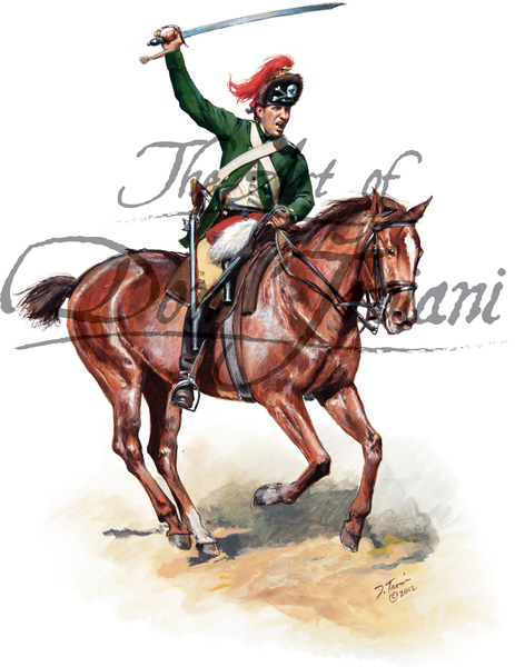 British 17th Light Dragoon Private - Philadelphia Campaign 1777-1778