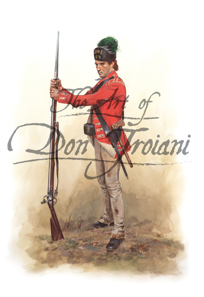 53rd Regiment of Foot Private, 1777