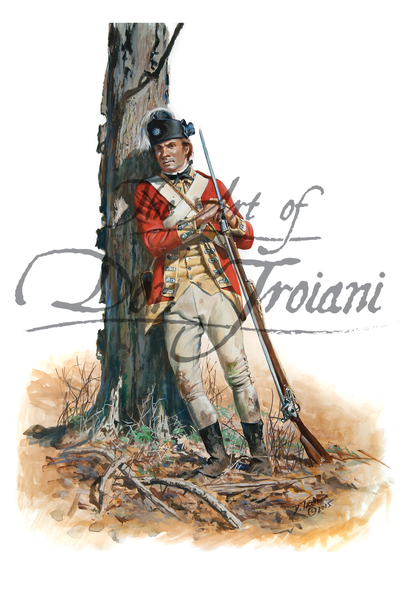 62nd Regiment of Foot Private, 1777