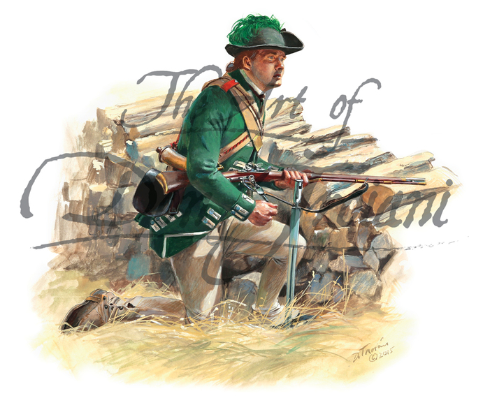 Ferguson's Corps of British Riflemen, 1777