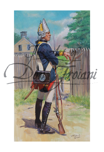 Fusilier Regiment Von Ditfurth, 1776 - American Revolution