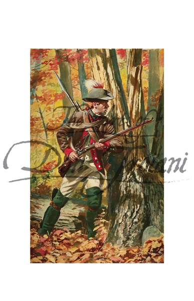 Rifleman of the Continental Army Rifle Corps, 1778-79