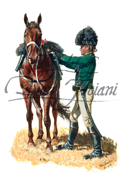 British Legion Dragoon Cavalry Trooper, 1780