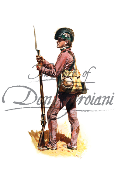 Lee's Partizan Legion, Infantry, Private, 1779