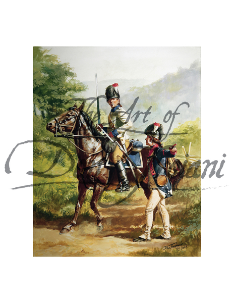 American Army: 2nd Continental Light Dragoon Legion, 1782