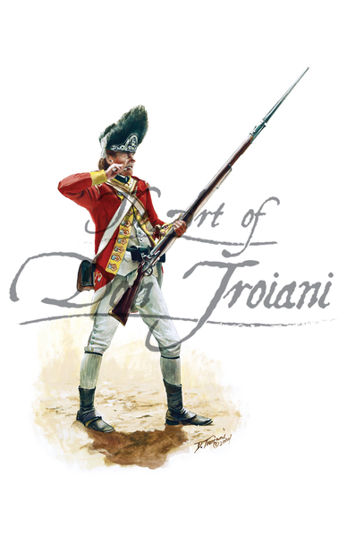 British Grenadier of the 38th Regiment of Foot, 1775