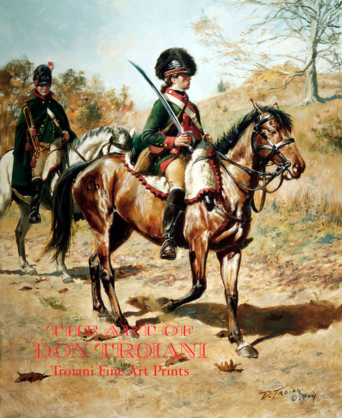 CLD - 4th Continental Light Dragoon, 1779-1781