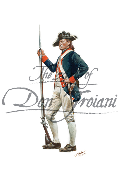 3rd New York Regiment, Private, 1777