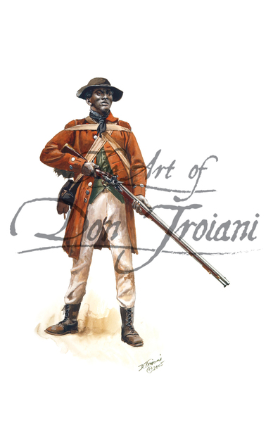 Black Militiaman of the Spartanburg, S.C. Militia