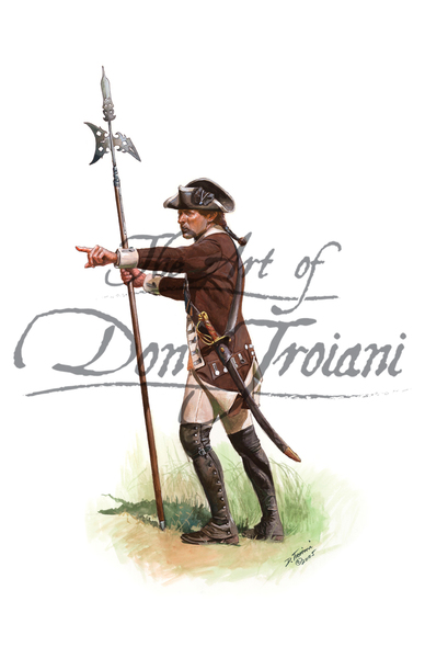 Continental Infantry: Sergeant of Greaton's 24th Regiment 1776