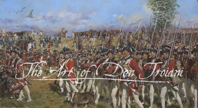 Victory at Yorktown American Revolution Don Troiani