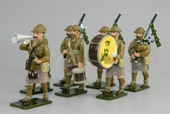 WWI Recruiting Band - Highlanders